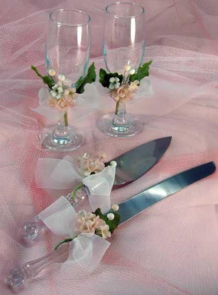 decoracion de cuchillo para 15 anos | ... para tu dia especial el set de copas cuchillo y espatula para la torta