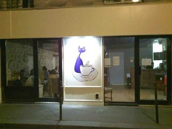 Le Café des chats 8 rue sedaine a Paris