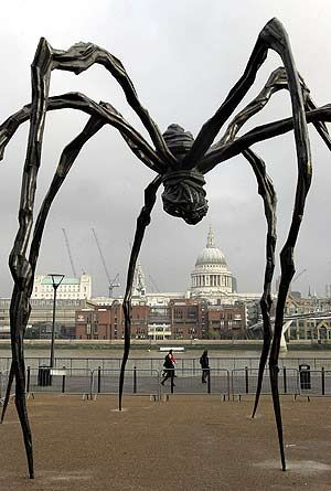 "Louise Bourgeois's ""Tate Modern"". Check out 10 artists that changed the course of 20th century art at TheCultureTrip.com."