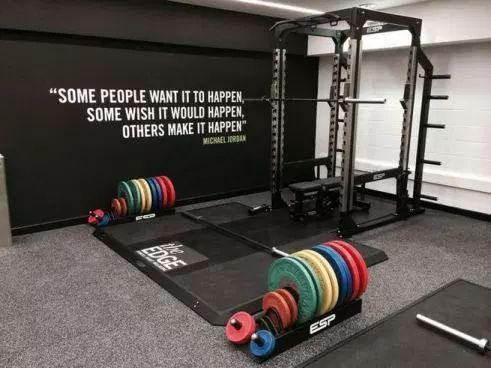 13 beautiful fitness room design ideas  home gym garage
