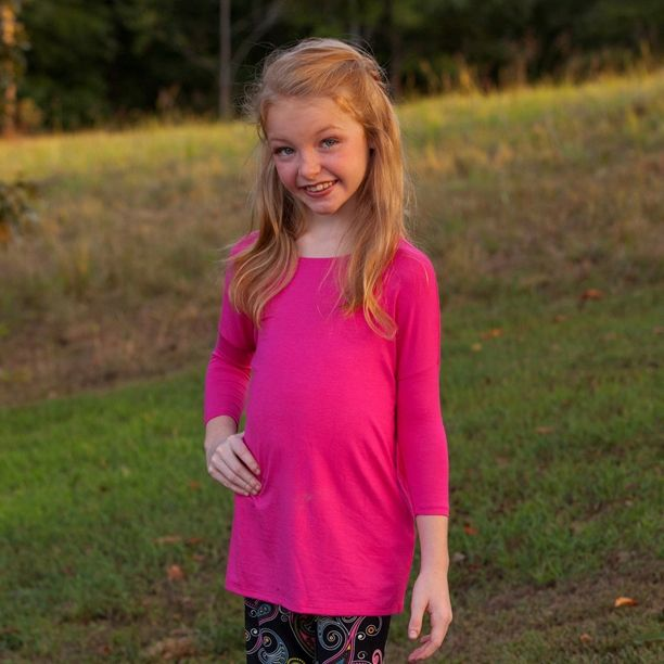 We have tons of awesome piko tops for leggings, palazzo pants and skirts! You can even pair this top with some cute jeans and boots! #shopbellabirdies #piko #tunic #fall Piko Boo Tunic Top - Pink - $20.95