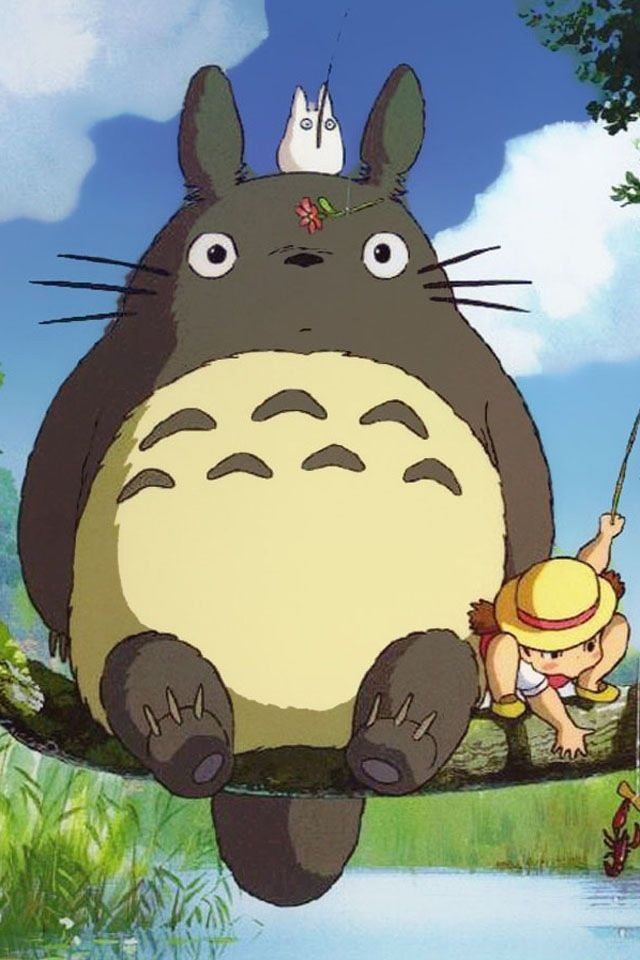totoro.....  all miyazak movies are awesome