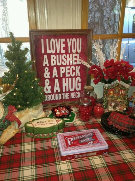 Country Christmas | Holiday Decorating | Pinterest