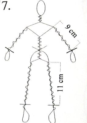 Wire doll armature - and then add paper or paper mache -  http://members.home.nl/m.spijkers/dolls.htm
