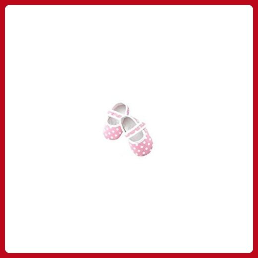 La panoplie Des Petits Baby Girls' Booties pink pink 6/9 Months