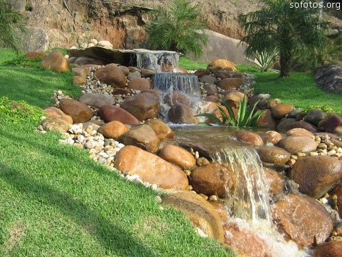 Cachoeira artifical