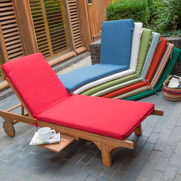 Coral Coast Bellora Acacia Chaise Lounge With Optional Cushion   Imagine  The Most Beautiful Afternoon Outdoors: Sun, Warmth, Shades, And A Cool  Drink. Images
