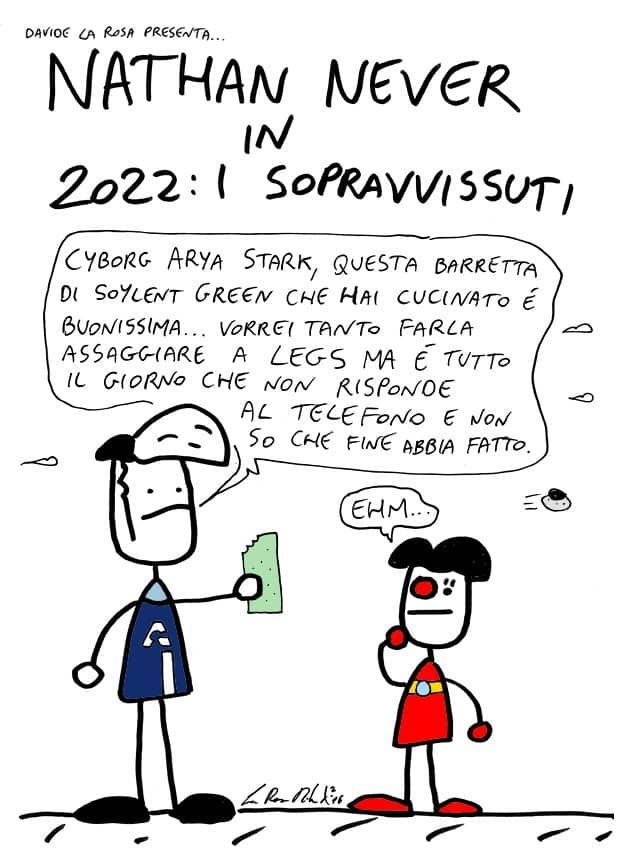 Davide La Rosa e Nathan Never in 2022: i sopravvissuti - Nathan