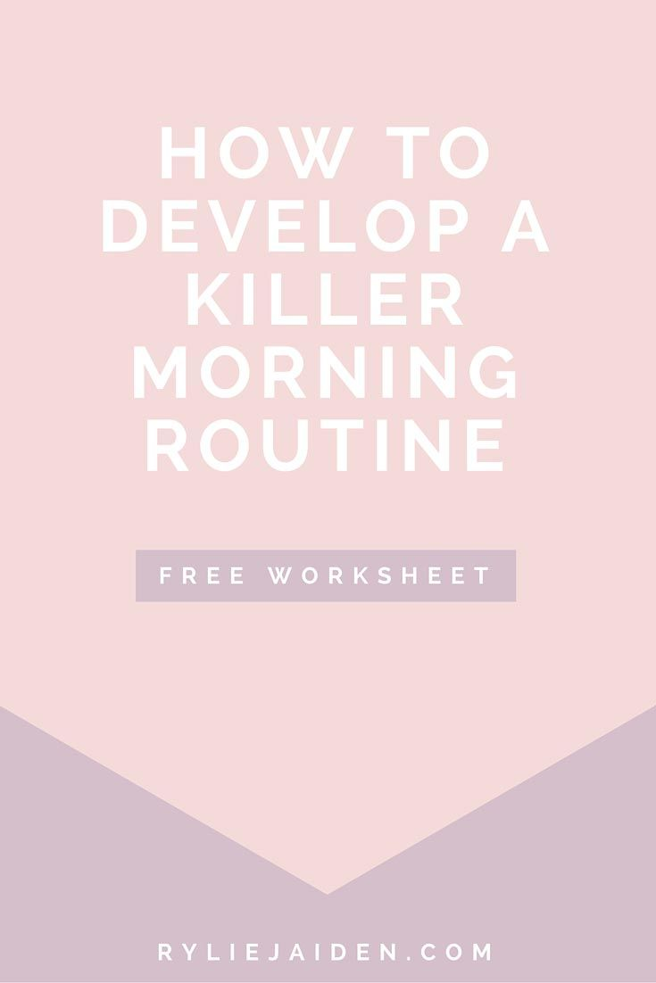 Have a hard time getting motivated in the morning? Check out these great morning habits to help kick start your day!