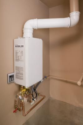 Tankless water heaters come in two types, gas or electric. On average, gas-fired heaters are more efficient and heat the water faster than electrically powered units. However, they must be vented and ...