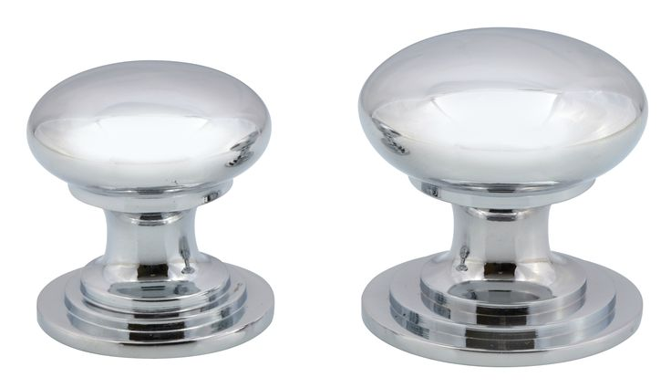 For traditional and farmhouse themed kitchens, Victorian chrome knobs remain one of the most popular finishing pieces.