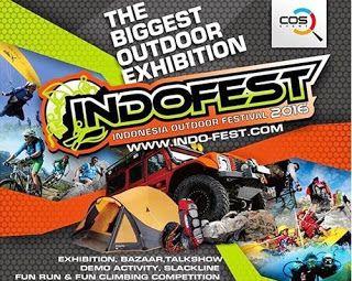 Tiket Turindo: Indonesia Outdoor Festival 2016