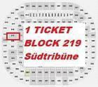 #lastminute  FC Bayern München  Eintracht Frankfurt Ticket Block 219 Kat. 3 VOLLZAHLER WoW #deutschland