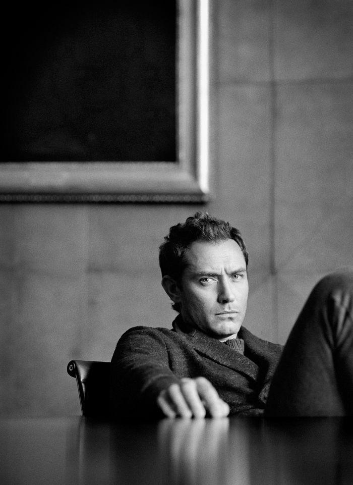 Джуд Лоу (Jude Law) в фотосессии Тома Крейга (Tom Craig) для журнала The Journal Magazine (ноябрь 2014), фотография 6