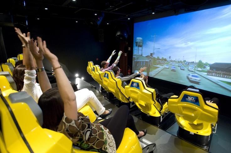 Ein aufregendes Erlebnis für Jung und Alt:  Das 4D Kino an Bord der MSC Splendida