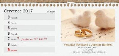 Svatební oznámení DLL - 243