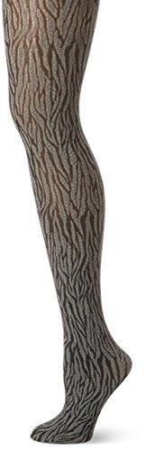 Animal-print tights will add some feisty dimension to an everyday outfit.