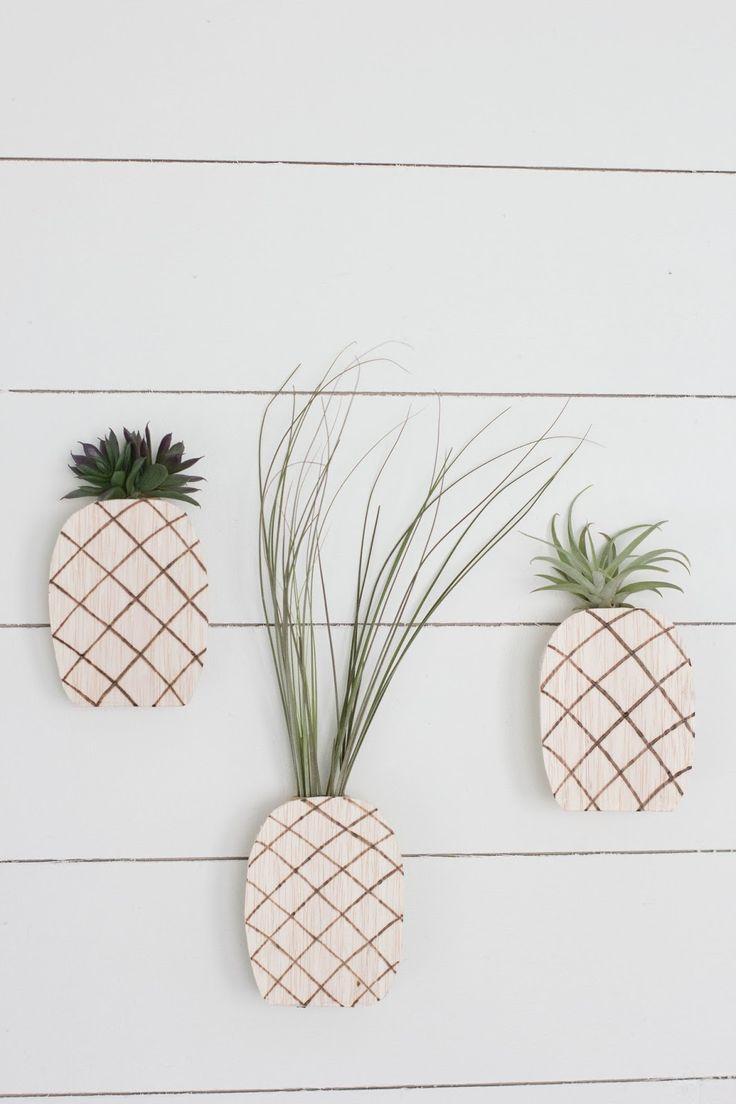 always rooney: Pineapple Air Plant Holder   DIY