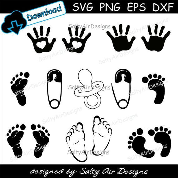 Foot free clip art baby feet borders clipart images image 2 - WikiClipArt