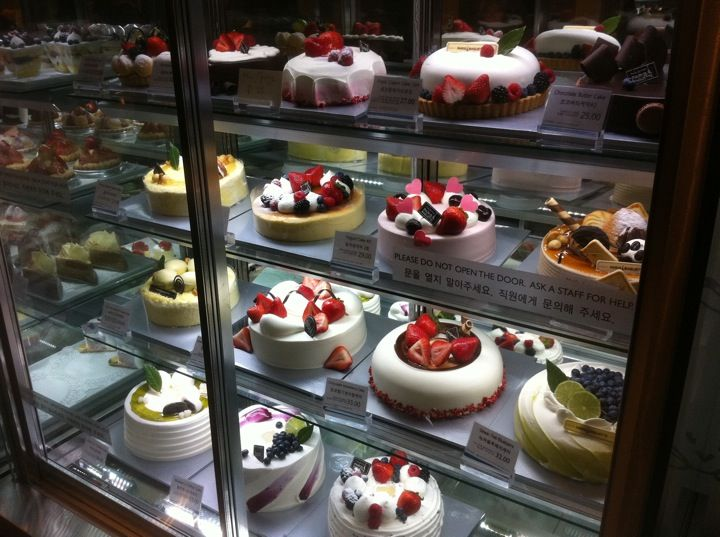 Great cafe with Korean desserts