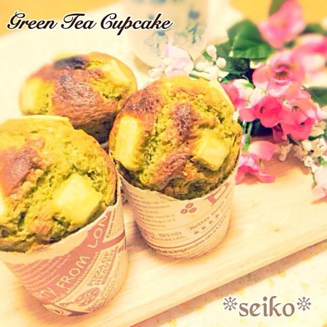 昨日の夕食は手抜きメニューに なっちゃったので お詫びを兼ねてカップケーキを 作りました♡  お抹茶とサツマイモの相性バツグンで おいちいよ( •ॢ◡-ॢ)-♡  レシピは 後程♪ - 235件のもぐもぐ - 簡単♡お抹茶とサツマイモのカップケーキ( •ॢ◡-ॢ)-♡ by seiko111