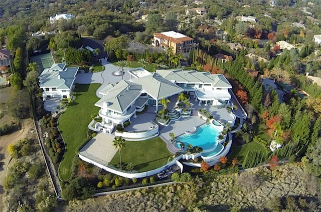 Eddie Murphy's Mansion in Granite Bay // California to sale for $ 12 Million (18 Pictures)