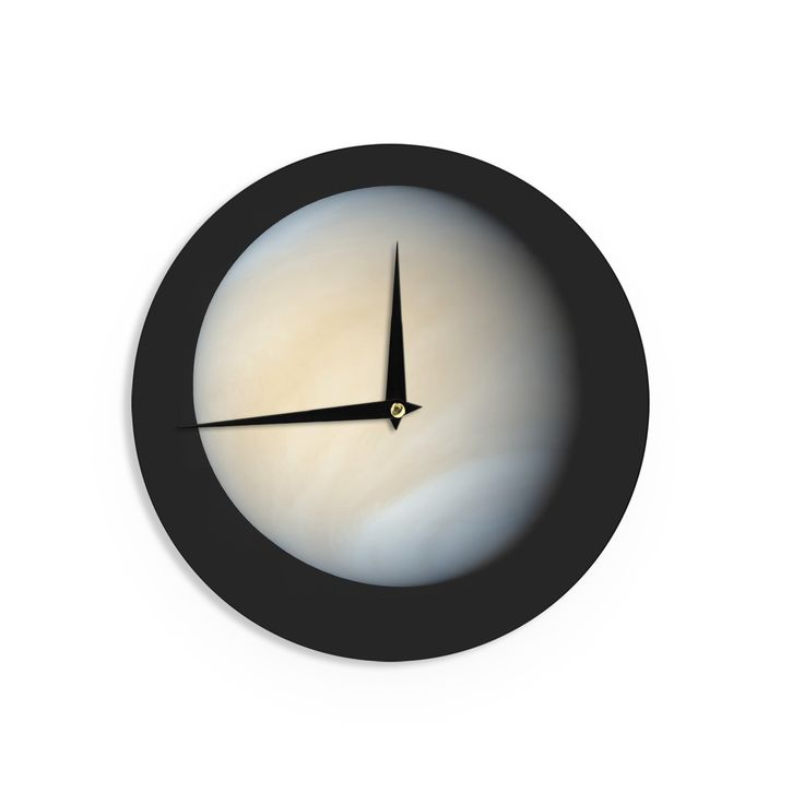 "Alias ""Venus"" Beige Nature Wall Clock"