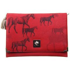 Disaster Designs Heritage & Harlequin Horse Clutch Bag | ScaryCanary