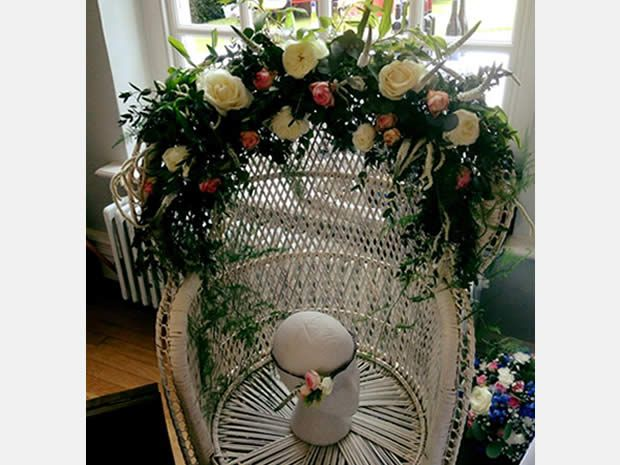 The Flower Girls can create bespoke accessories and decorations for your venue. #rusticweddings #weddingflowers #weddinginspiration