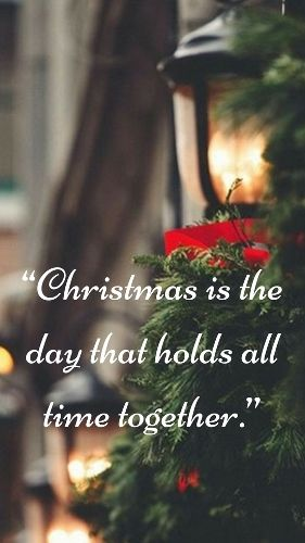 Merry Christmas Quotes 2016, Sayings, Inspirational Messages For Cards U0026  Friends