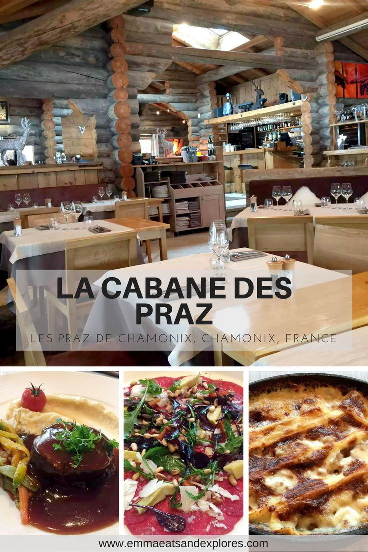 La Cabane des Praz - an elegantly rustic restaurant in Chamonix, France serving traditional Savoyarde Specialities, delicious food and incredible wine!