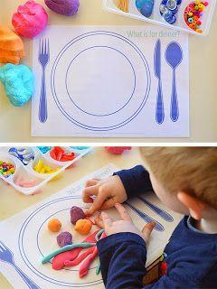 Sempre criança: Alimentação