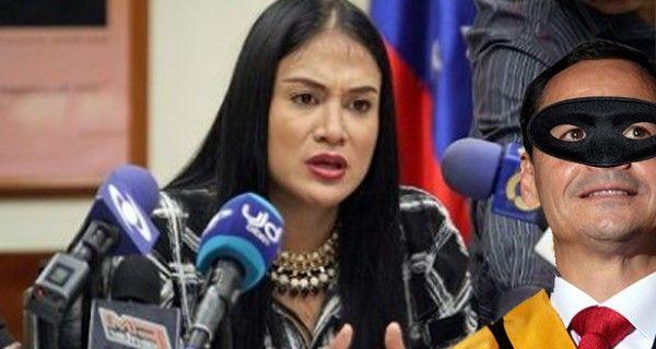 ¡LAIDY ENTRAMPADA! EN GOBERNACIÓN DEL TÁCHIRA!  Vielma Mora cargó hasta con bisagras de las puertas