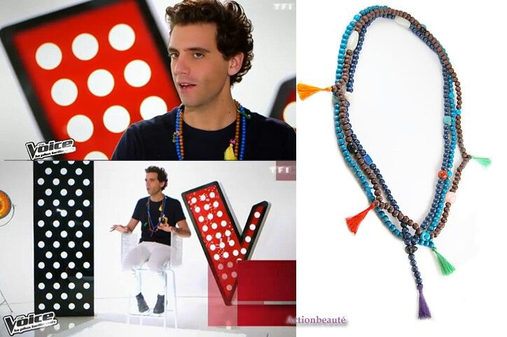 LIKA MIKA'S - Mika's beaded tassel necklaces