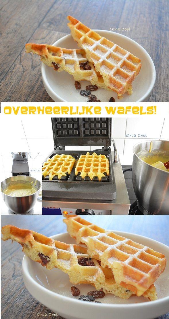 """Overheerlijke Wafels naar een recept van een """"echte Banketbakker"""" #wafels #recept"""