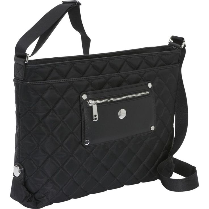 Knomo Silvi Bag for iPad MacBook Air black | #Laptop #Bag | #Accessories | #Fashion #Style #Girlboss | #Ad