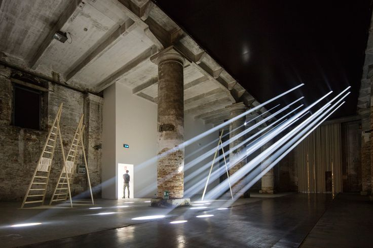 Introductory Room at Arsenale, Venice Architecture Biennale 2016. Photo by Laurian Ghinitoiu   Yellowtrace