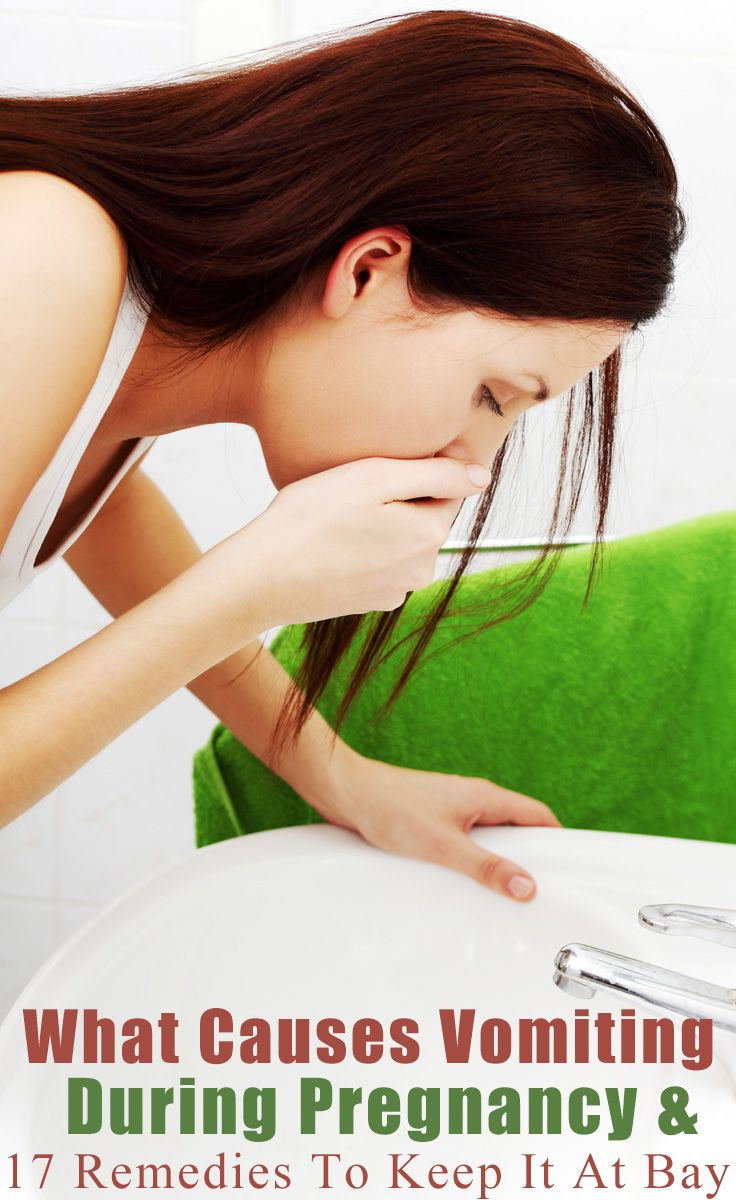 What Causes Vomiting During Pregnancy