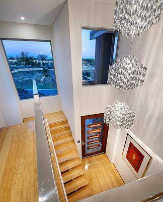 Fachada y dise o interior de casa moderna de dos pisos for Diseno de interiores facebook