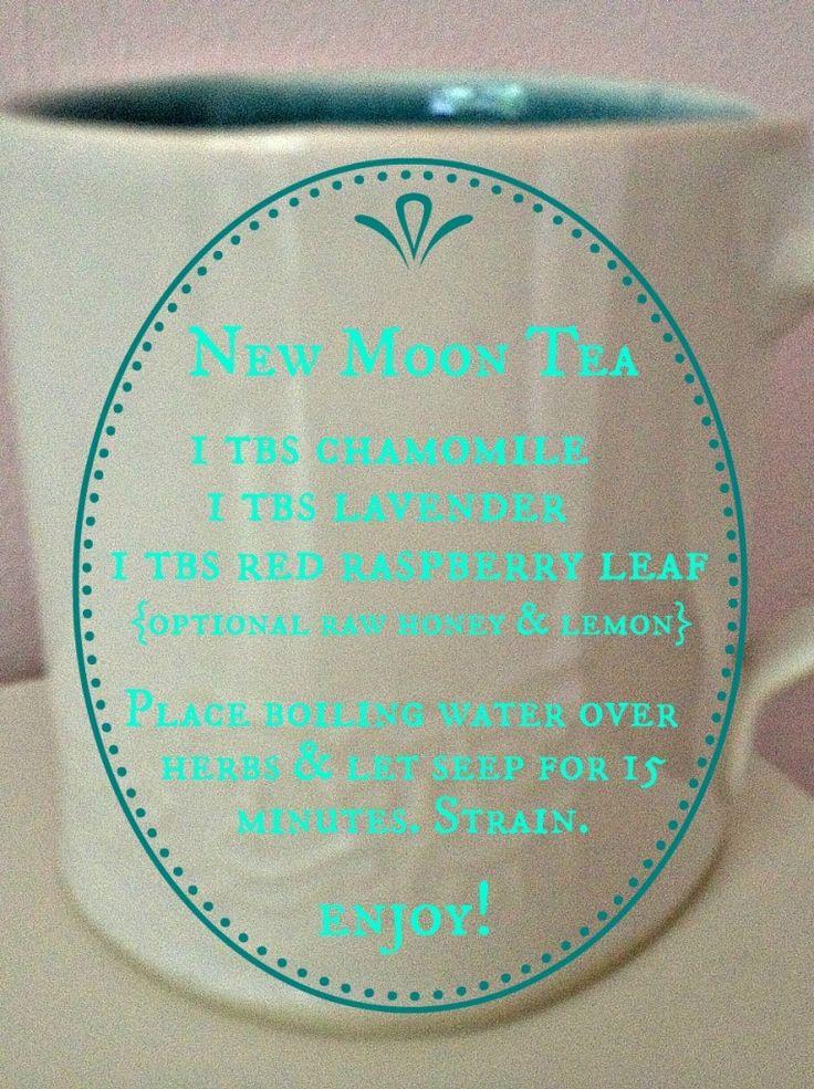 herbal tea recipe: chamomile, lavender and raspberry leaf