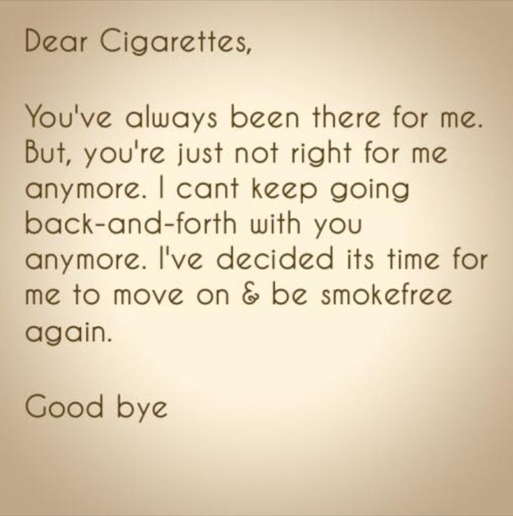 Dear Cigarettes Quit smoking naturally How to Quit Smoking Naturally Even if You Love Cigarettes