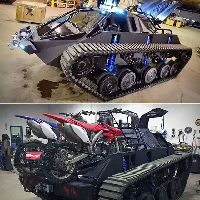 Checkout the Ripsaw Ev2 personal apocalypse vehicle. It has 600 hp, 12 inches of suspension travel and a truck box. This unit will get you and your cargo anywhere it needs to go. @howe and howe tech ♤ ♤ ☆DOUBLE TAP AND TAG FRIENDS☆ ♤ ♤ #manstrav #manstuff #menstuff #beardup #classymen #coolshit #menslifestyle #manup #gents #greatpic #Knockout #coolshit #iwantthat #offroad #trucks #offroadnation #offroader #offroadlife #tank #tanks #zombieapocalypse #zombieland #zombiekiller #badass #wantit