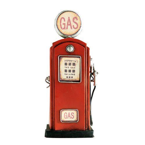 Tirelire pompe essence maisons du monde 19 99 euros paysage d cor pinte - Pompe a essence deco ...