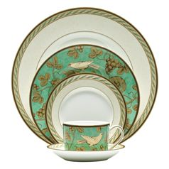 wedgwood golden bird