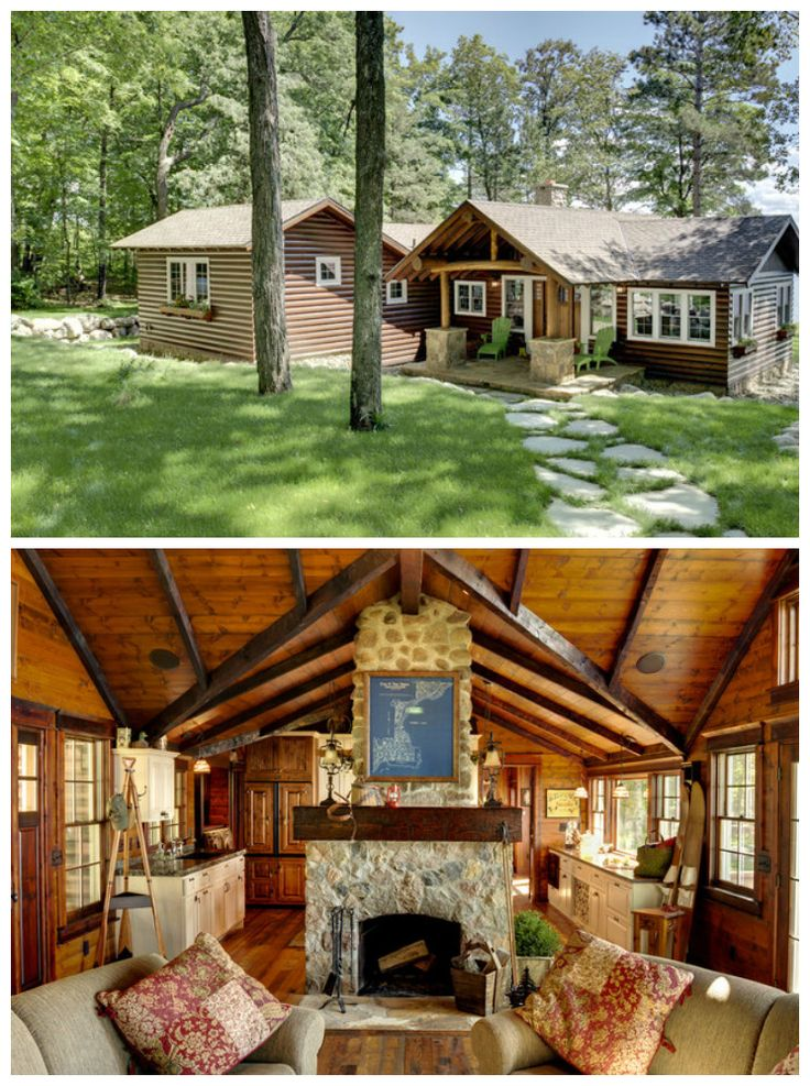 25 best ideas about small cottage plans on pinterest for Small luxury cabin