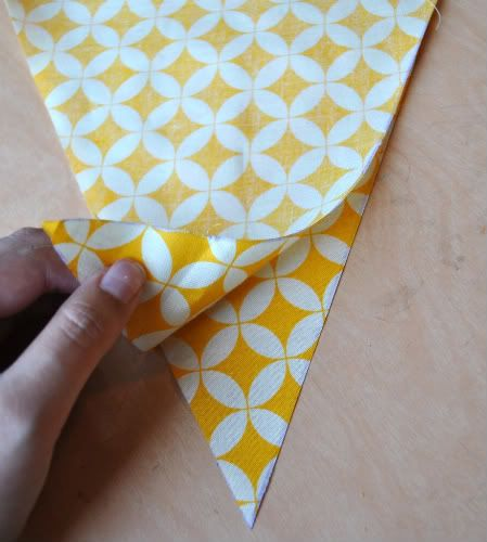 How to make bunting :-)