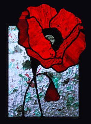 Teresa Seaton - Red Poppy Right