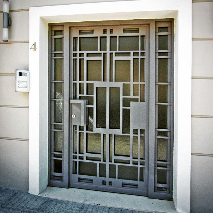 Retro style Iron door
