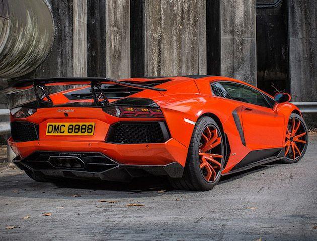 900 Horsepower Lamborghini Aventador LP900 Molto Veloce by DMC