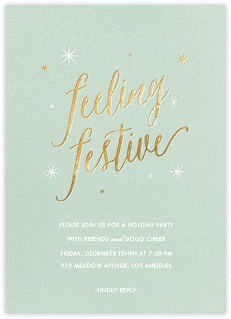 Feeling Festive - Paperless Post